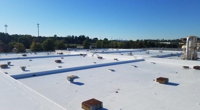 Tremco alphaguard roof coating